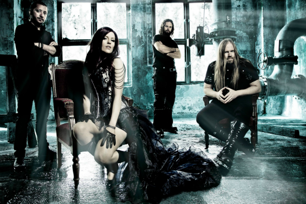 Goth Metal band Sirenia
